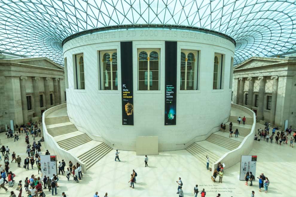 The British Museum, main rotunda