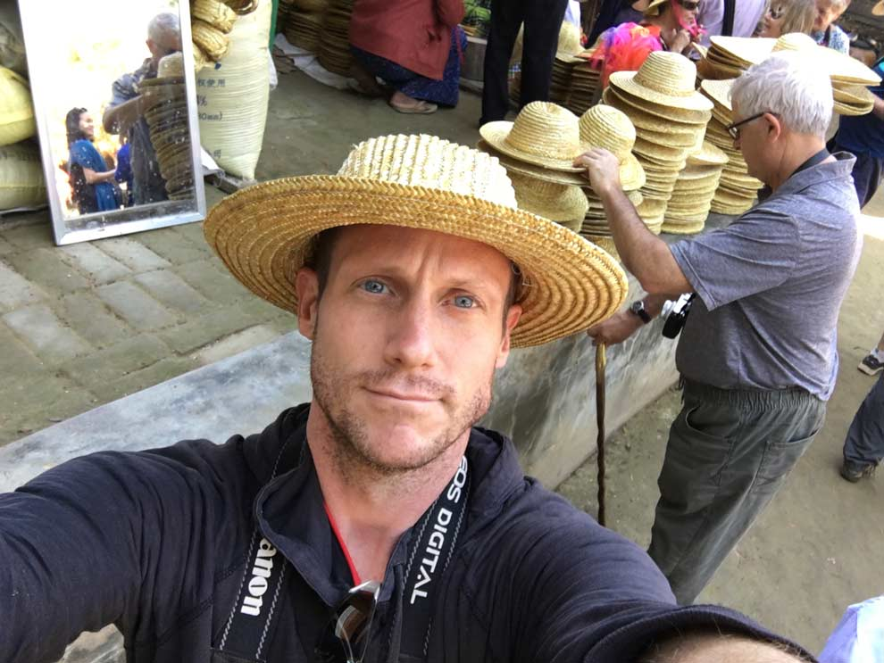 Sure, I'll buy a straw hat for $1 in Myanmar