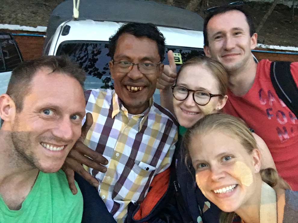 Zaw Min! The best driver / tour guide of the year, hands down. Loved this man.
