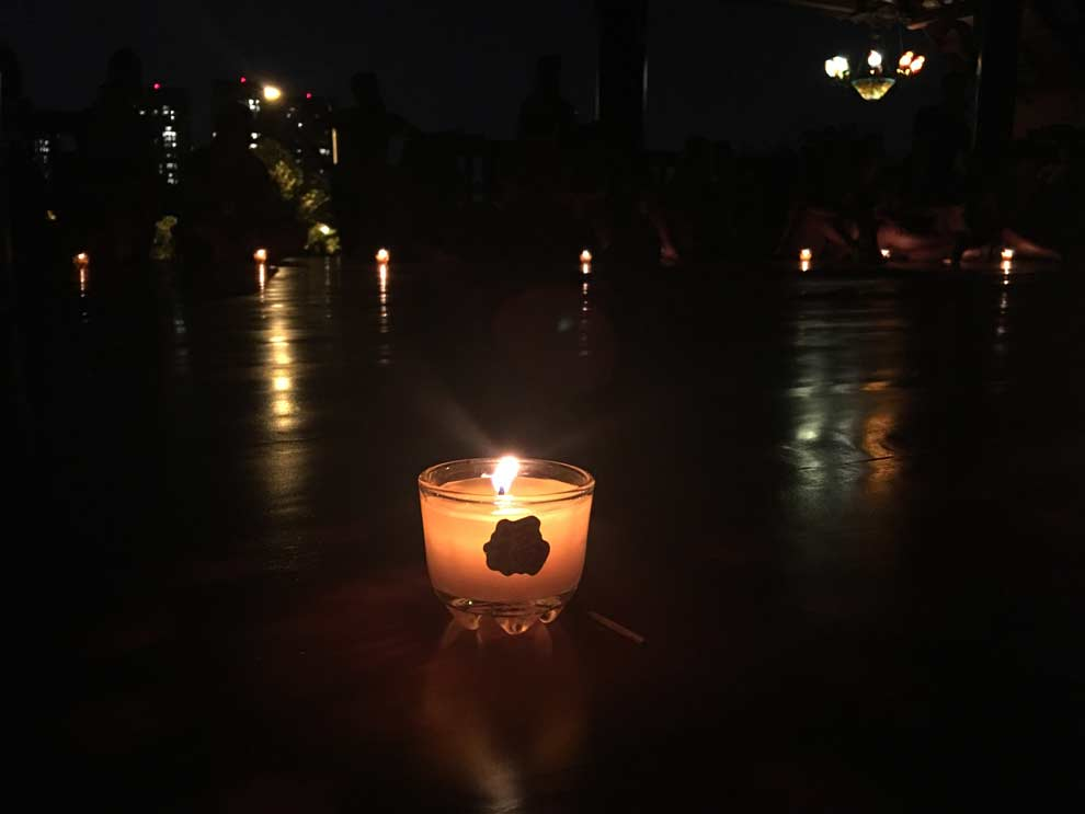 My final memory of Remote Year. A candlelight speakeasy. Magical.