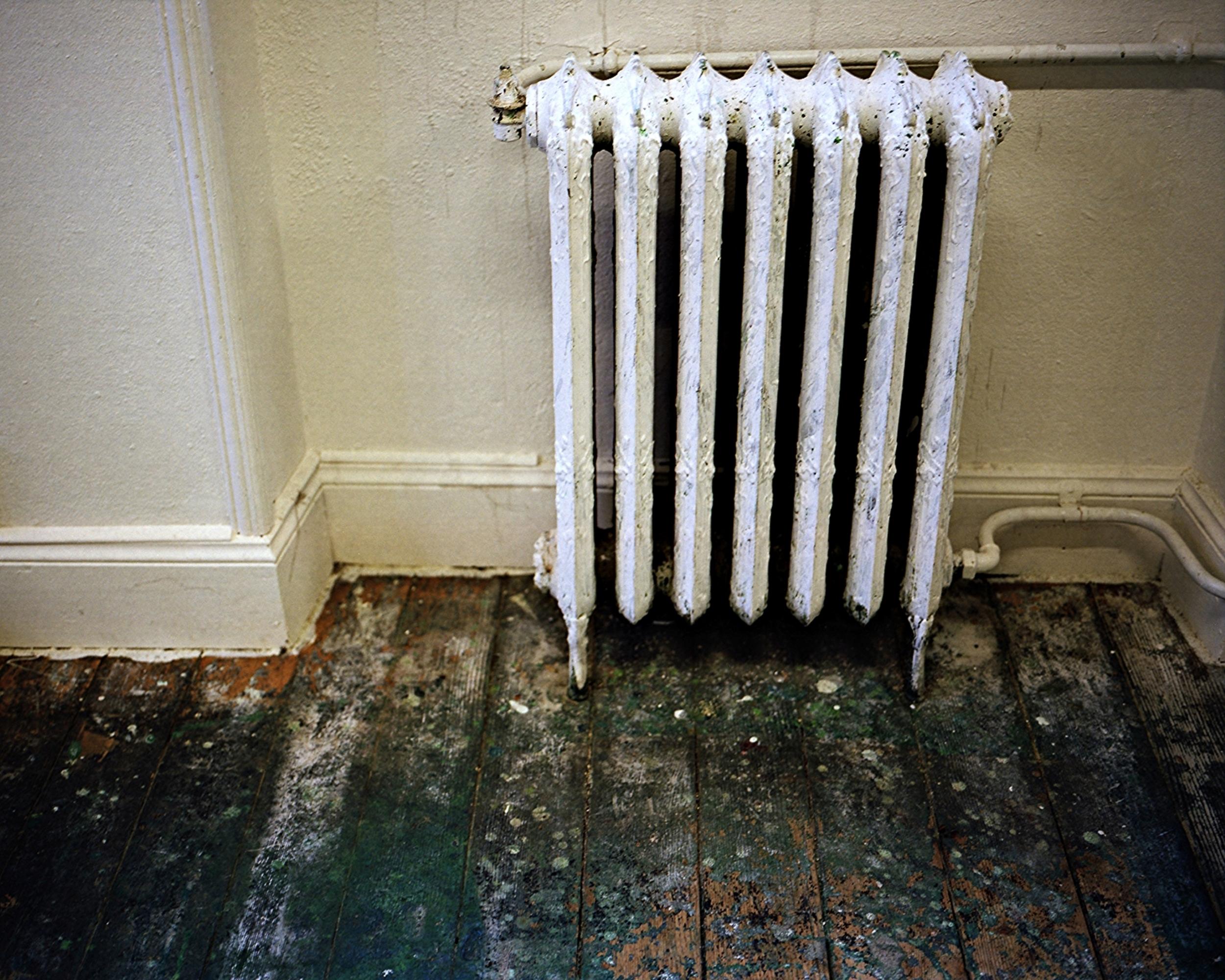 Le radiateur de la salle des maître.