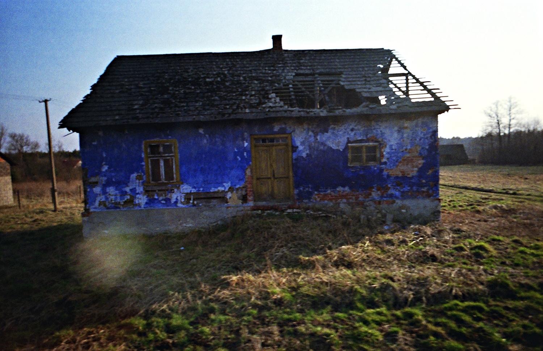 C'était une maison bleue