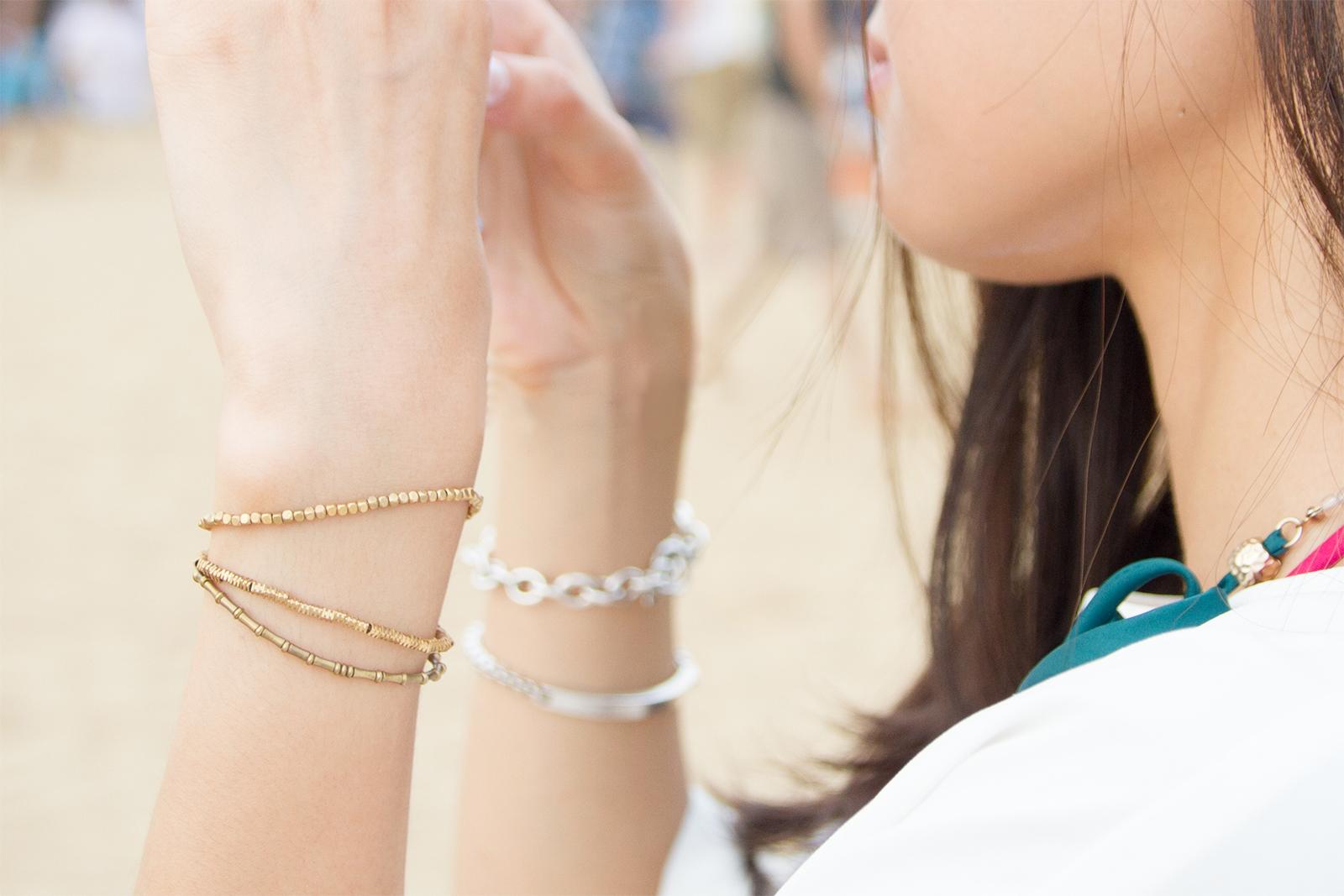 細緻又百搭的bit  love these bracelet I got from bit