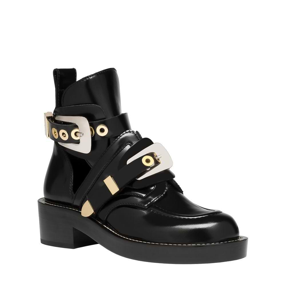 Balenciaga Ceinture Ankle Boots Black.jpg