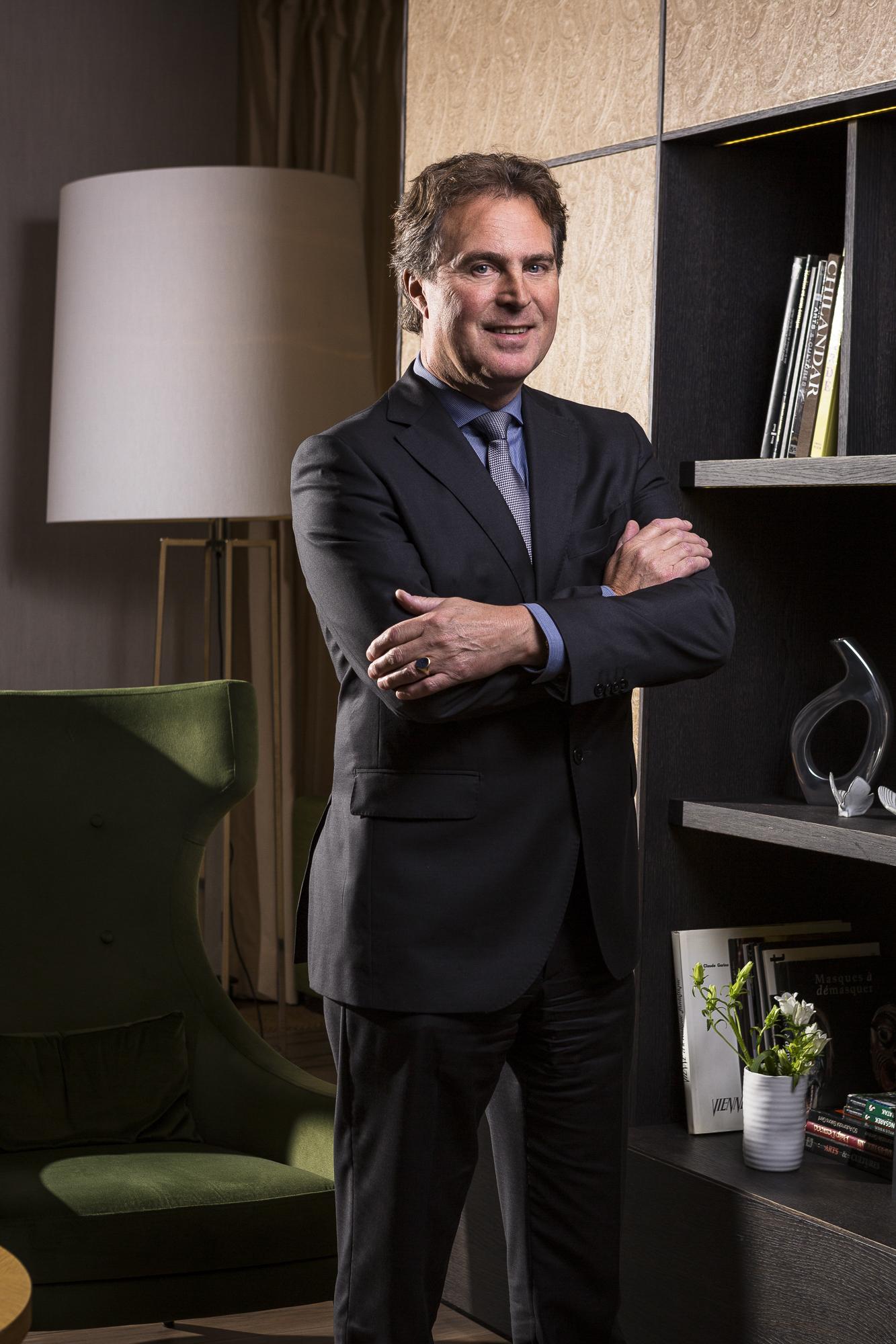 Cypert Schwartz, Directeur Crown Plaza Geneva