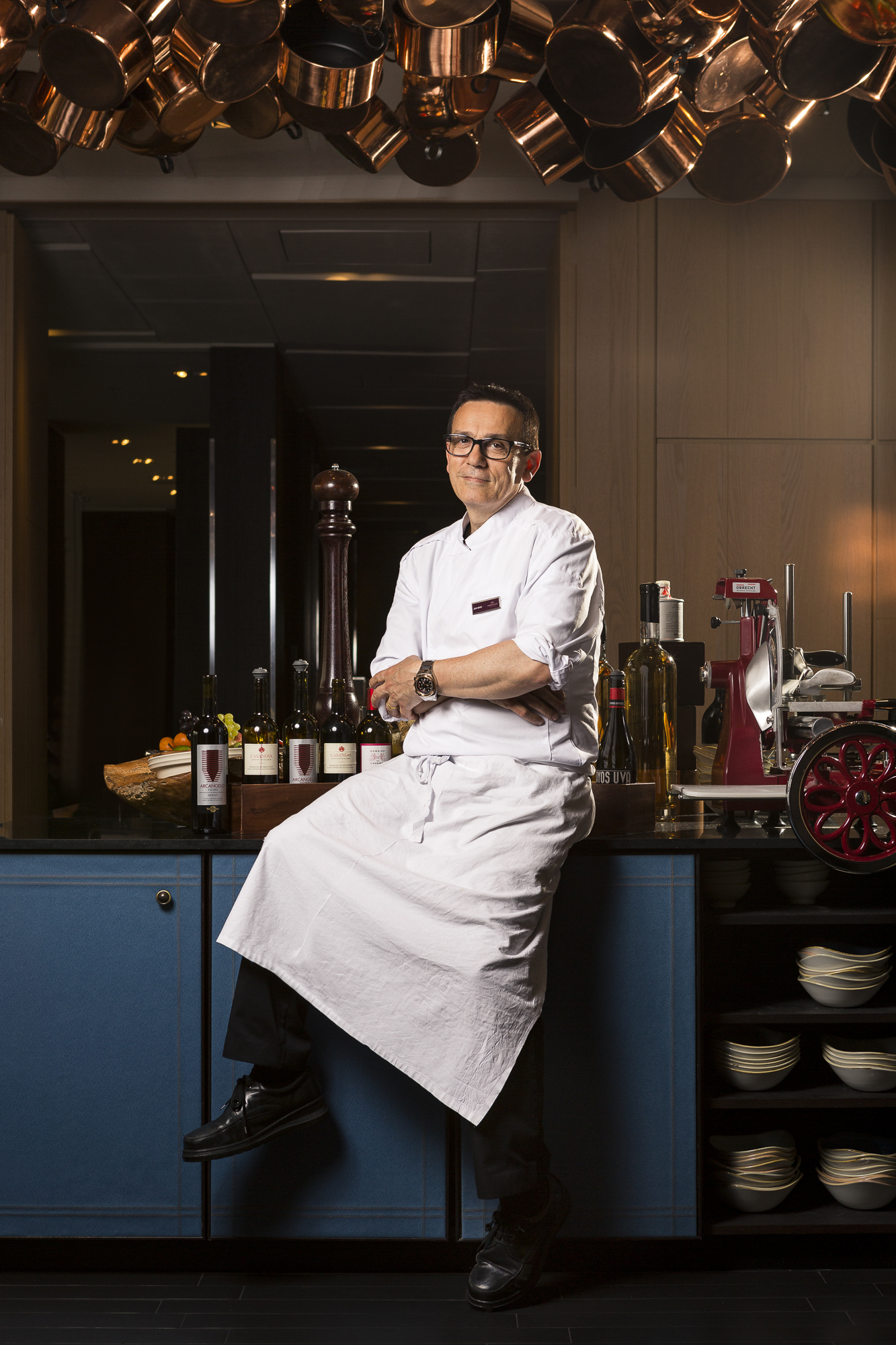 Chef Cauquil, Crown Plaza