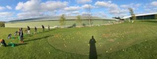 Outdoor short-game practice