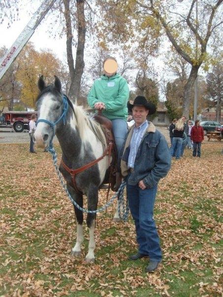 Kids N' Cowboys Patriot with World Champion Bronc Rider Dan Mortensen