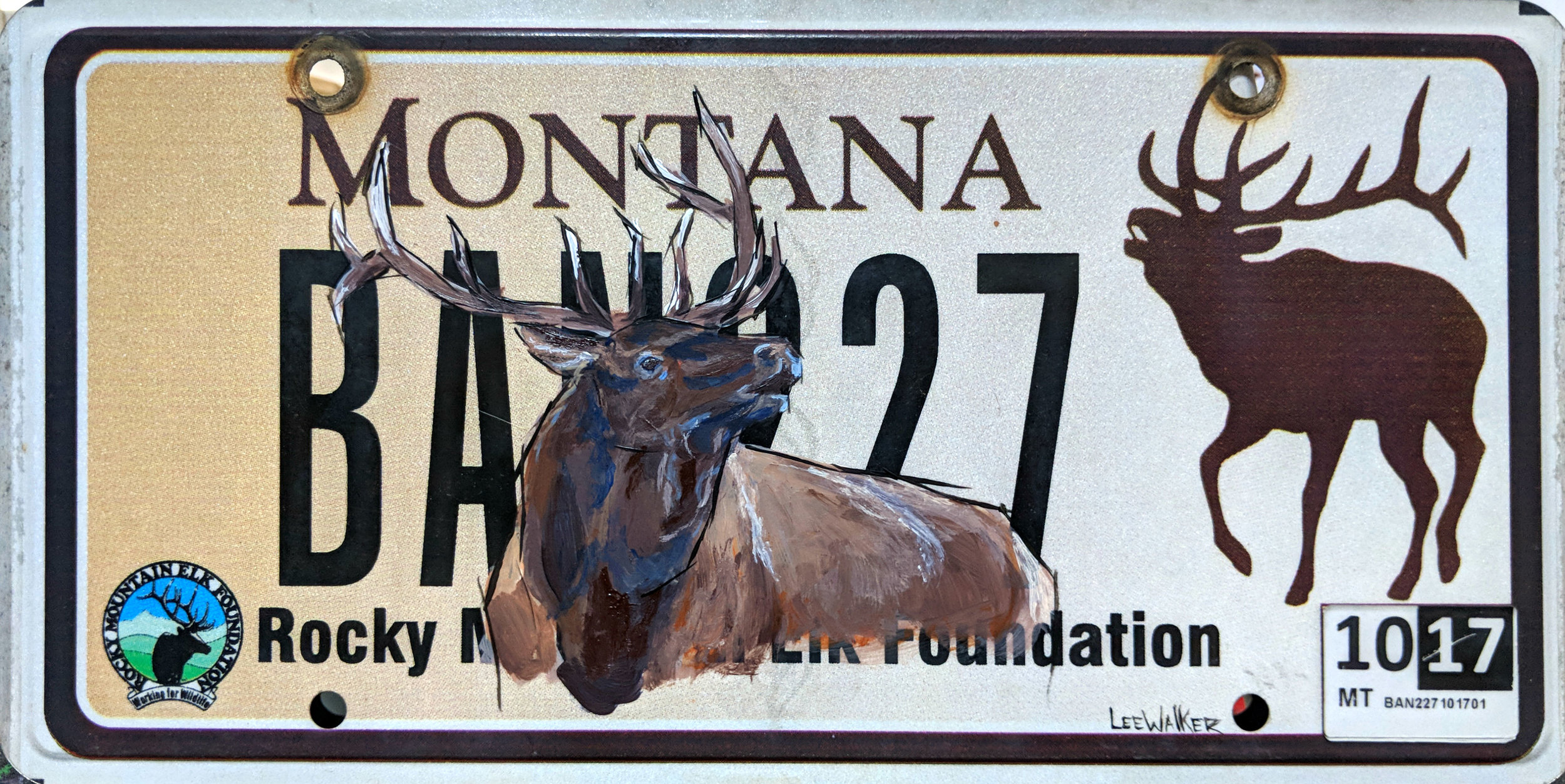 """Elk"" available at Yellowstone Art Museum"