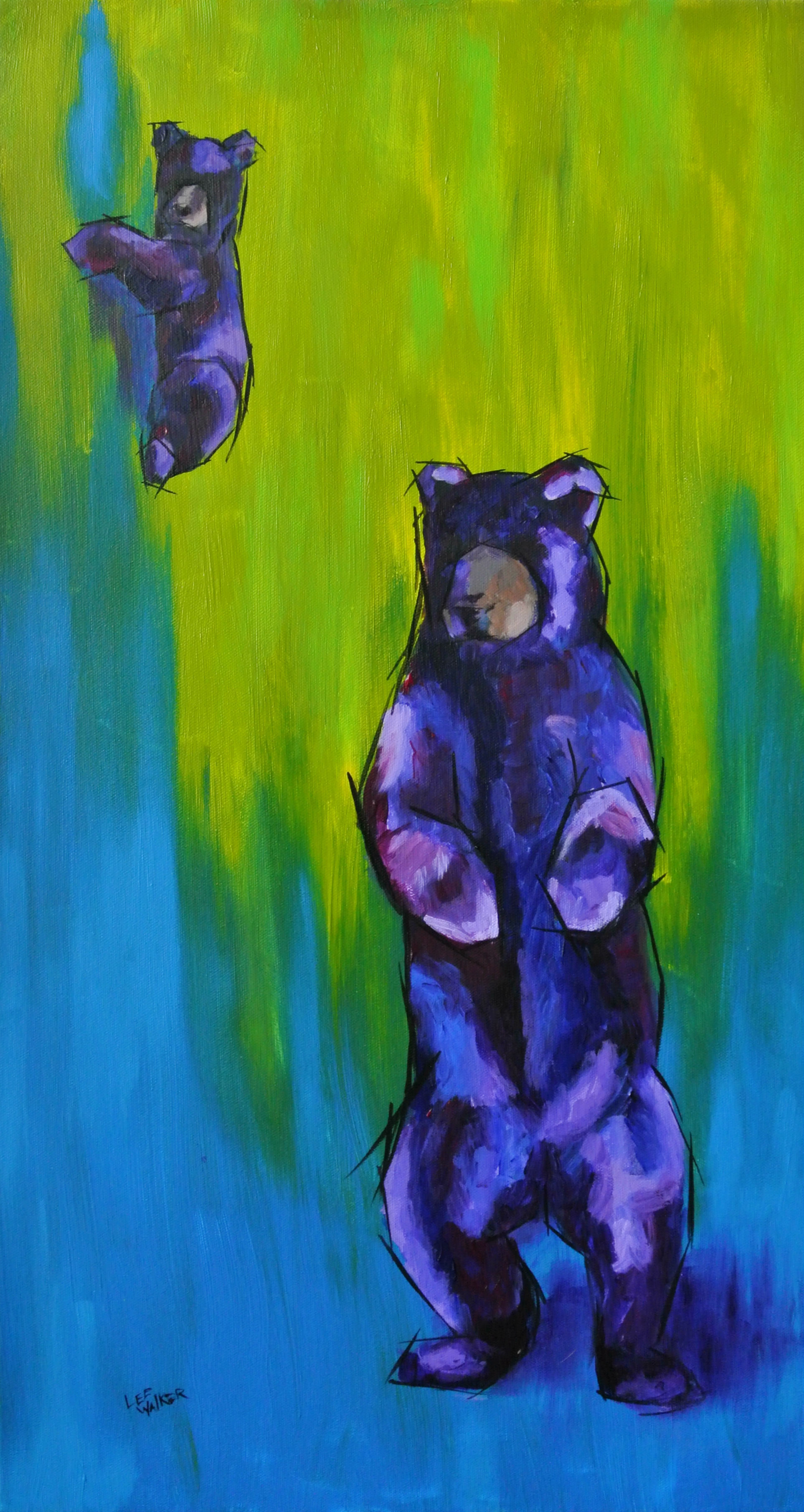 """Black Bears 15x30"""""""