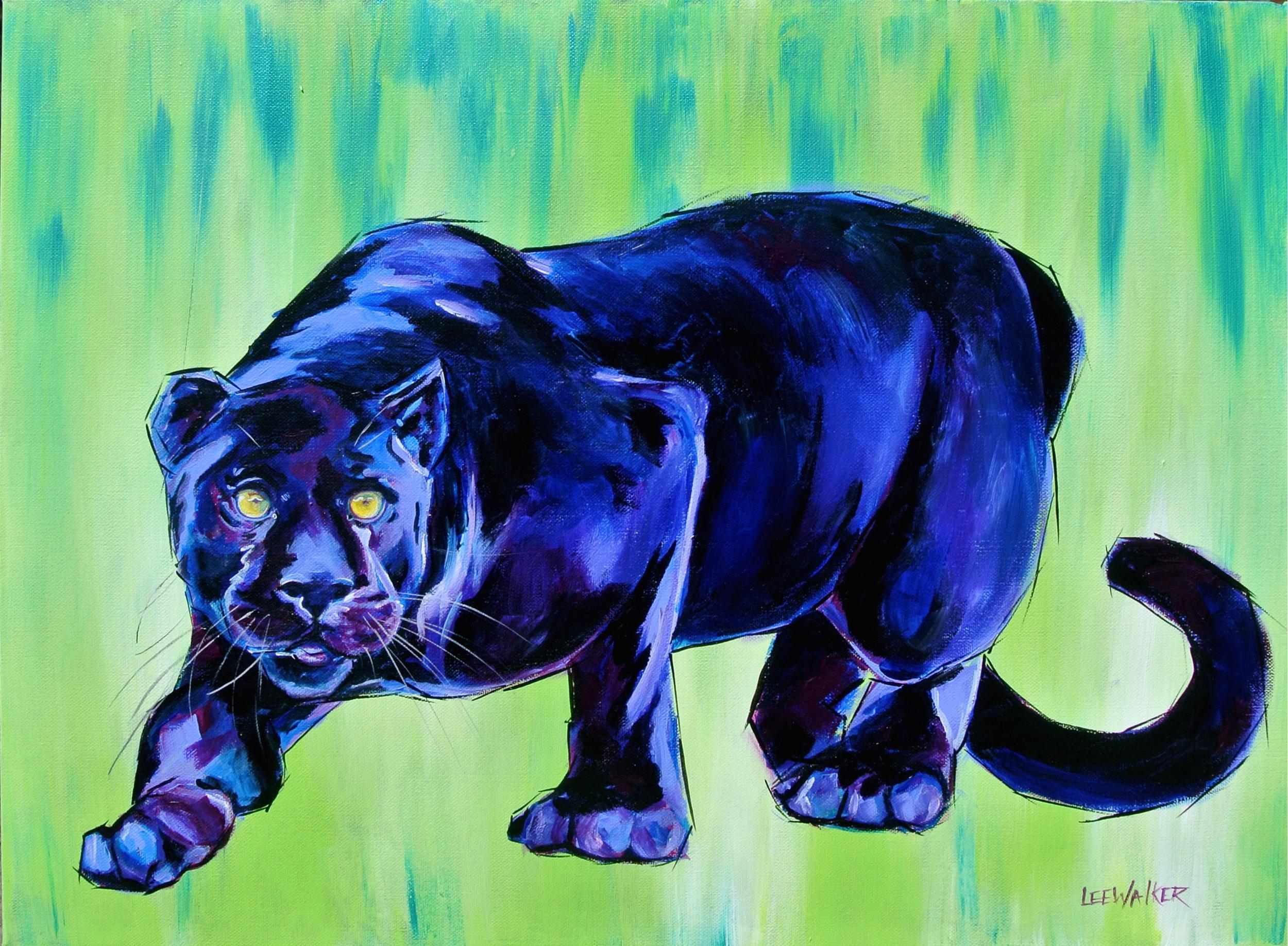 """Black Panther 18x24"""""""