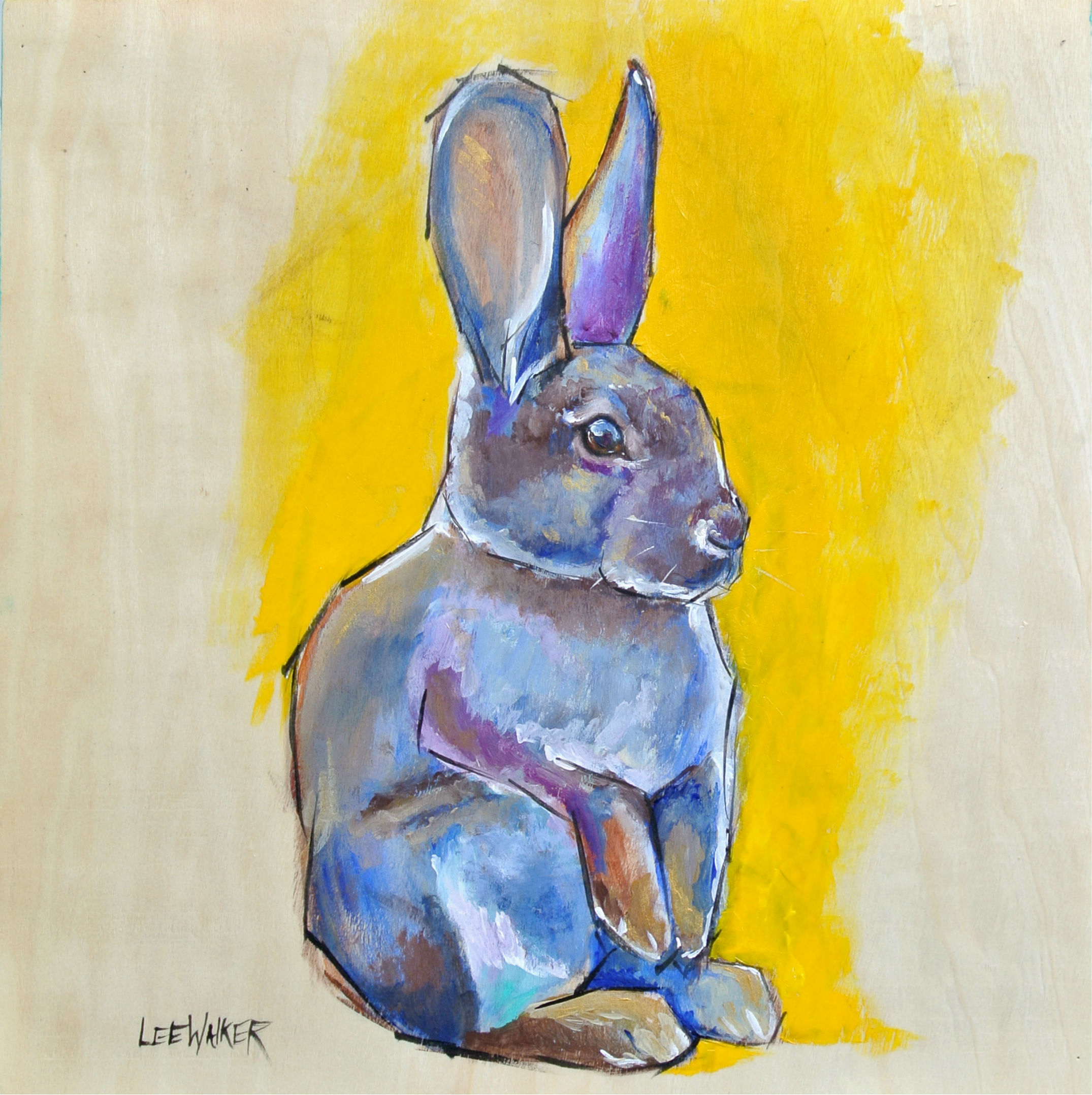 Cottontail 12x12""