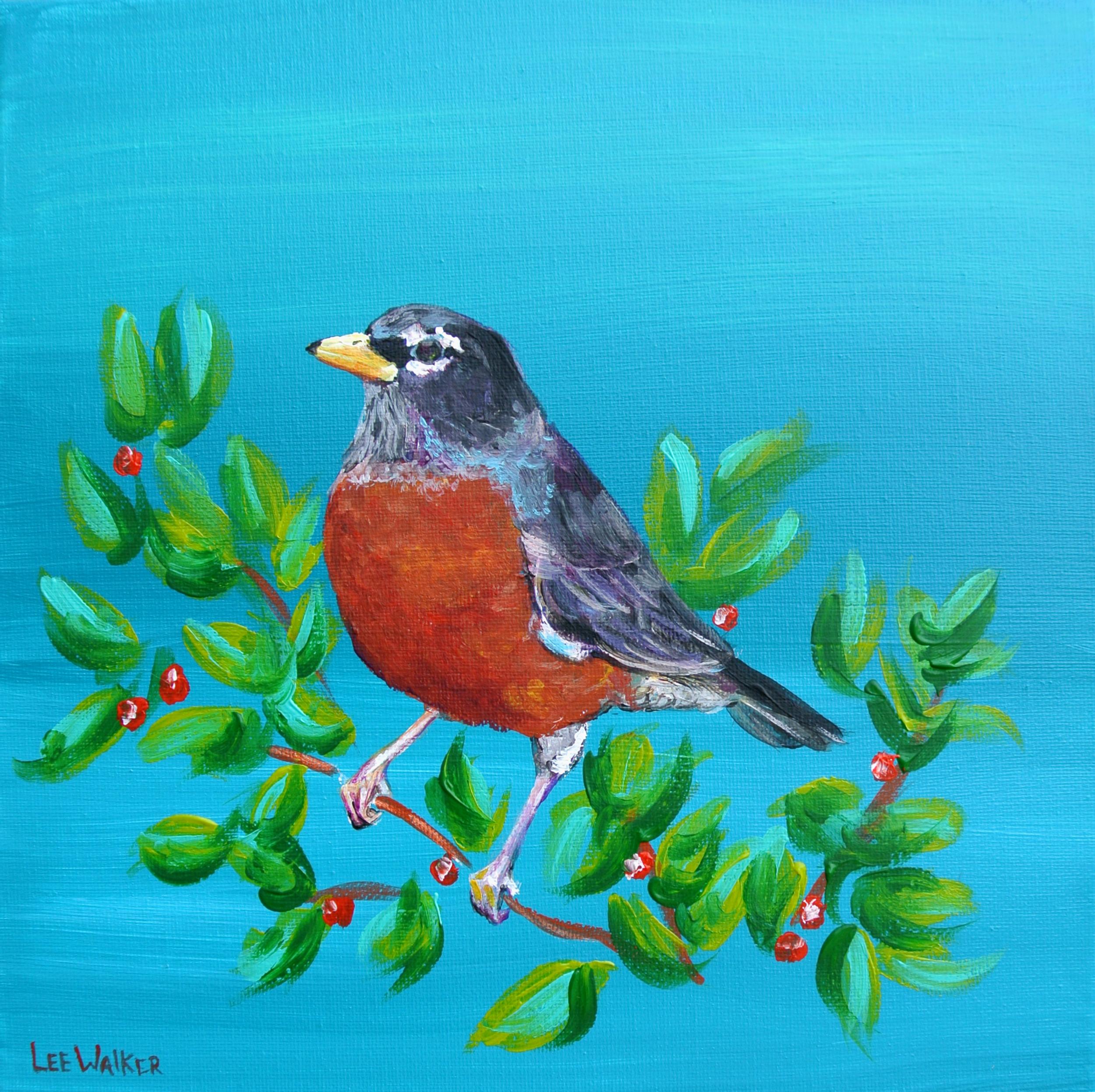 "Spring Robin 12x12"""