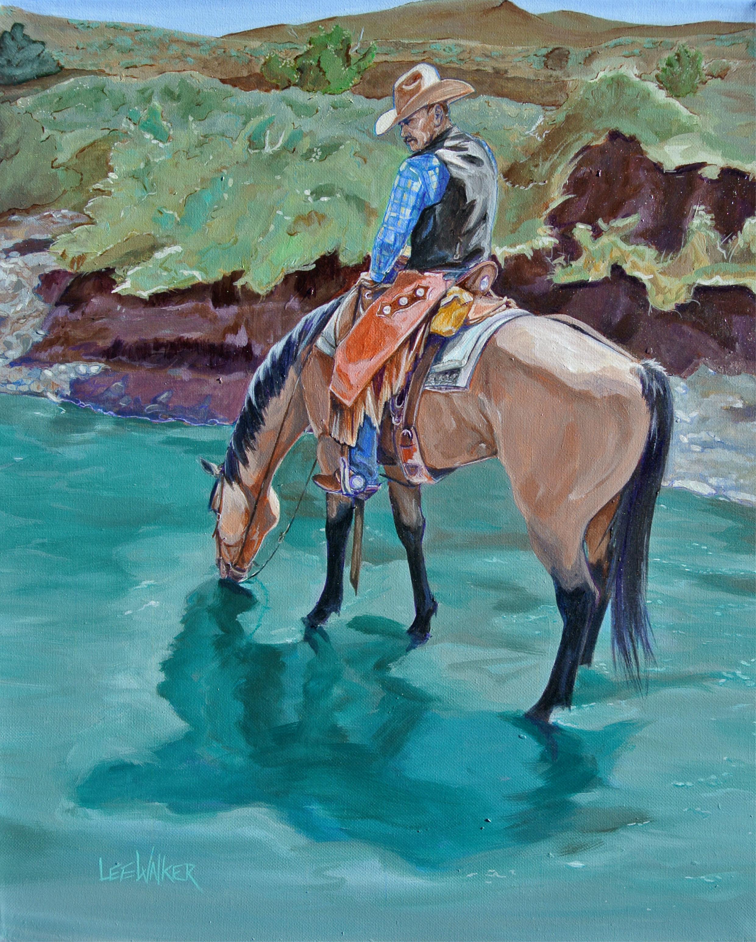 """Cowboy Kenny 16x20"""""""