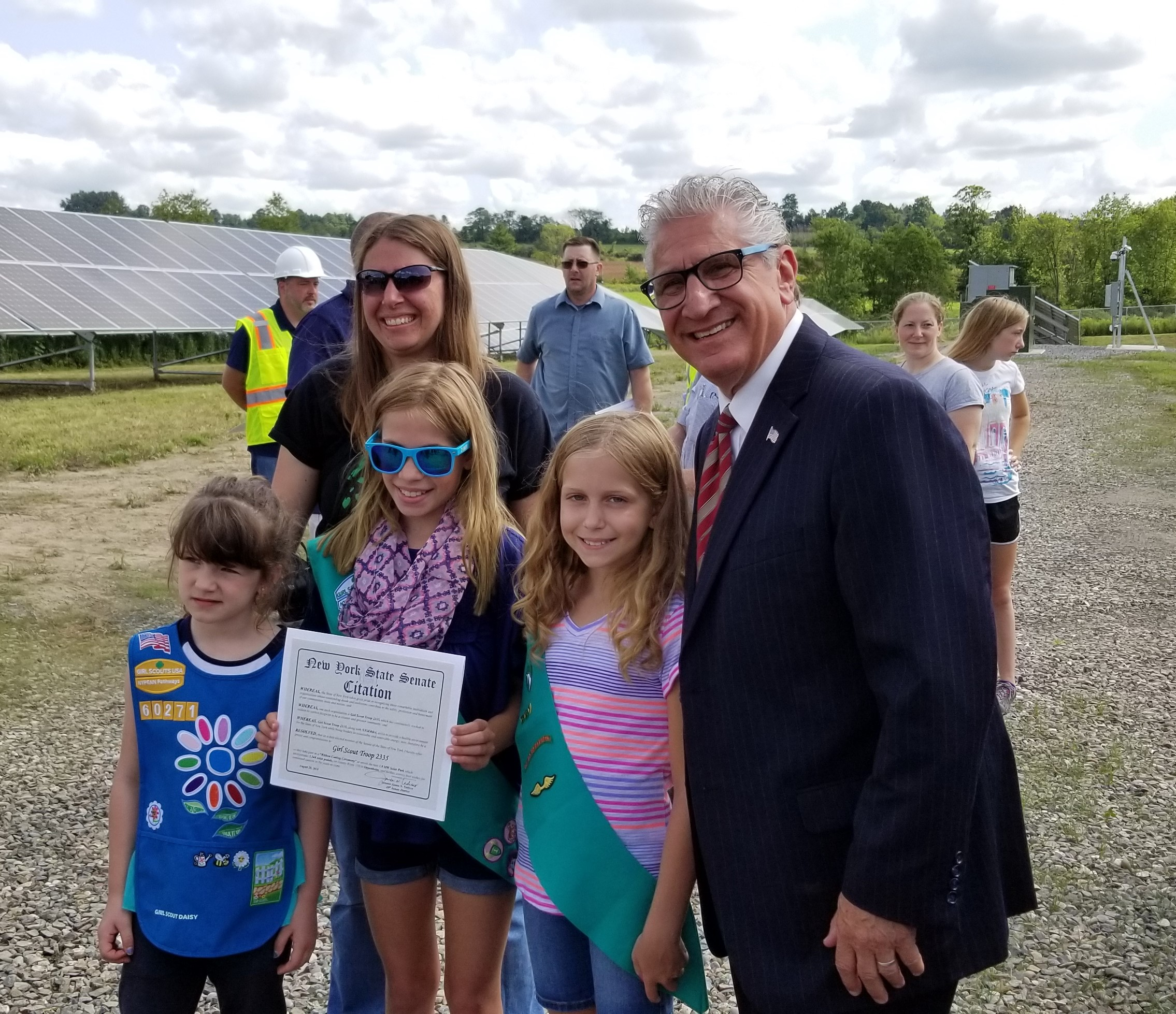 The Girl Scouts Pose with the Senator (2).jpg