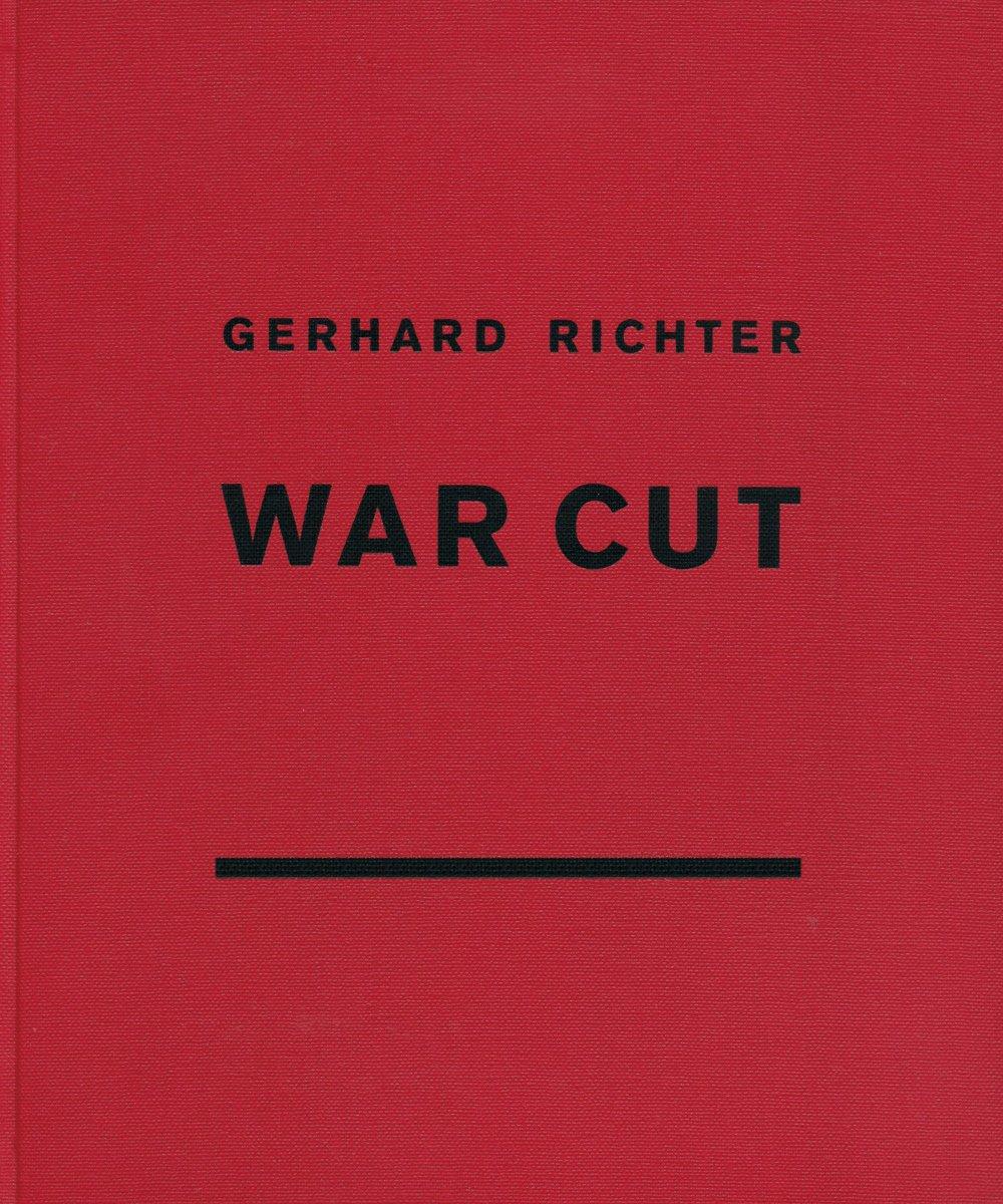 Richter: War Cut , Verlag der Buchhandlung Walther König, 2012   Editing