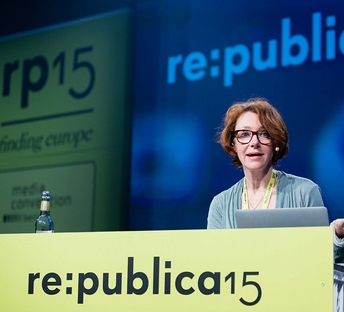 Ulrike Guérot: The European Republic is under construction , re:publica 2015, speech, 2015   Translating