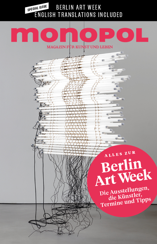 Monopol Magazin, Berlin Art Week supplement, 2017   Translation