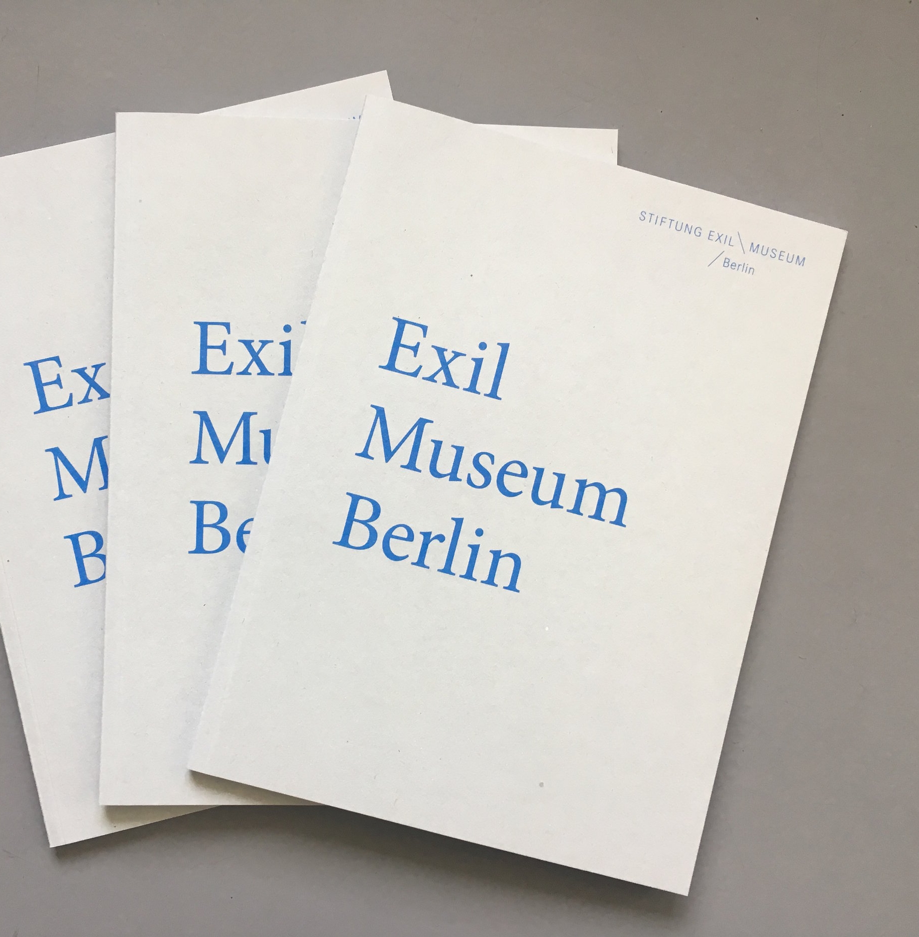Stiftung Exilmuseum Berlin,  Exilmuseum Berlin: Vision and Background , 2018   Translation