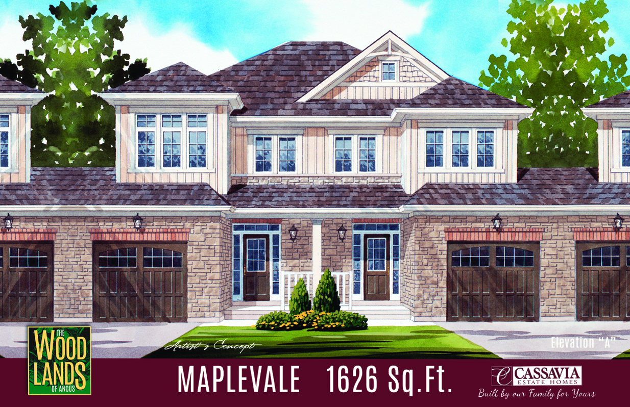 Maplevale Elev. A 1626 Sq. Ft..