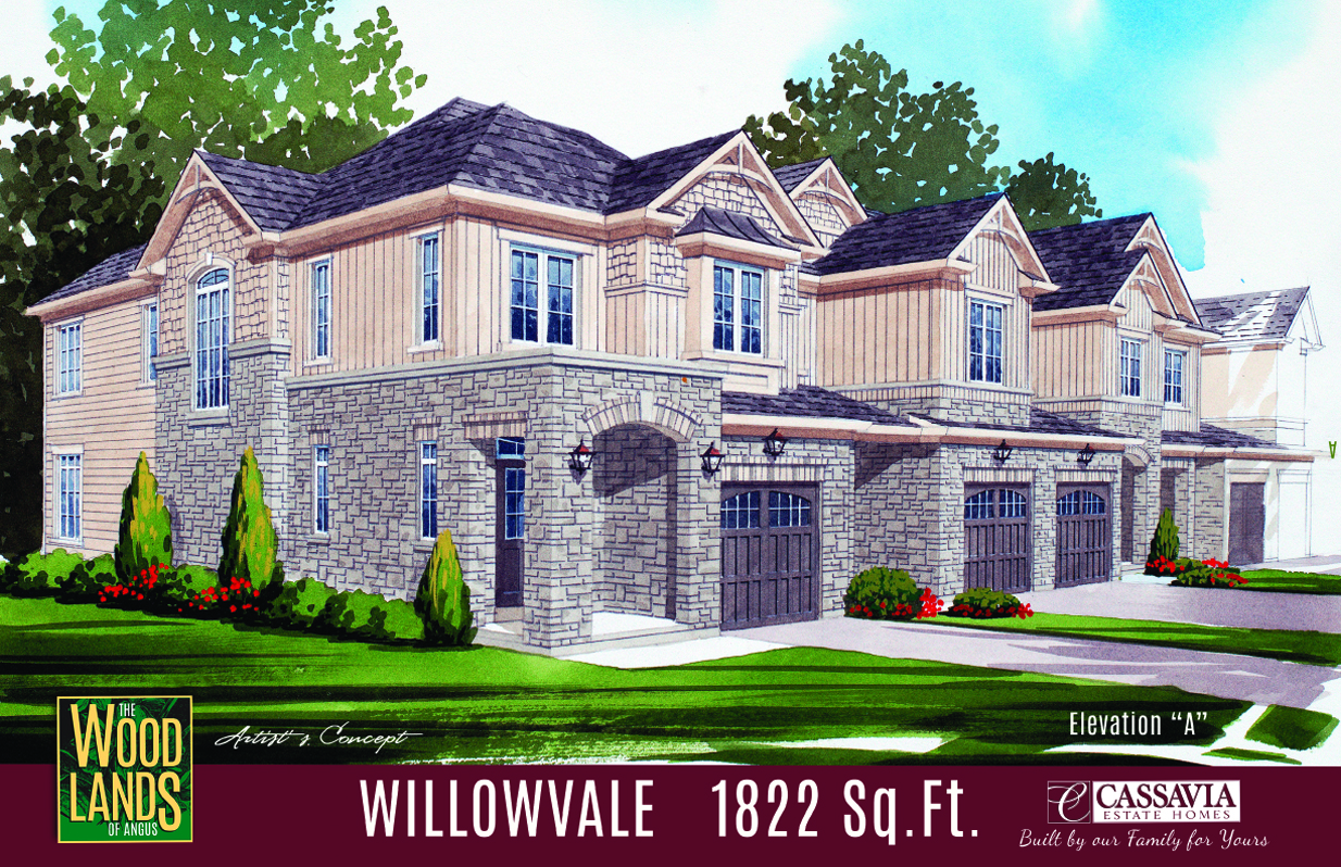 Willowvale Elev. A 1822 Sq. Ft.