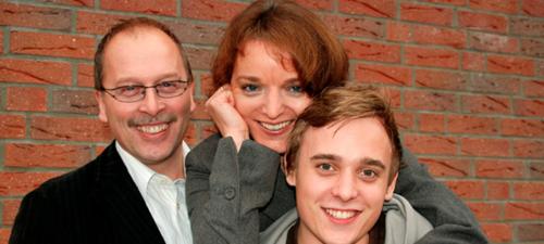 Hans-Joachim, Sabine und Marwin Fischer