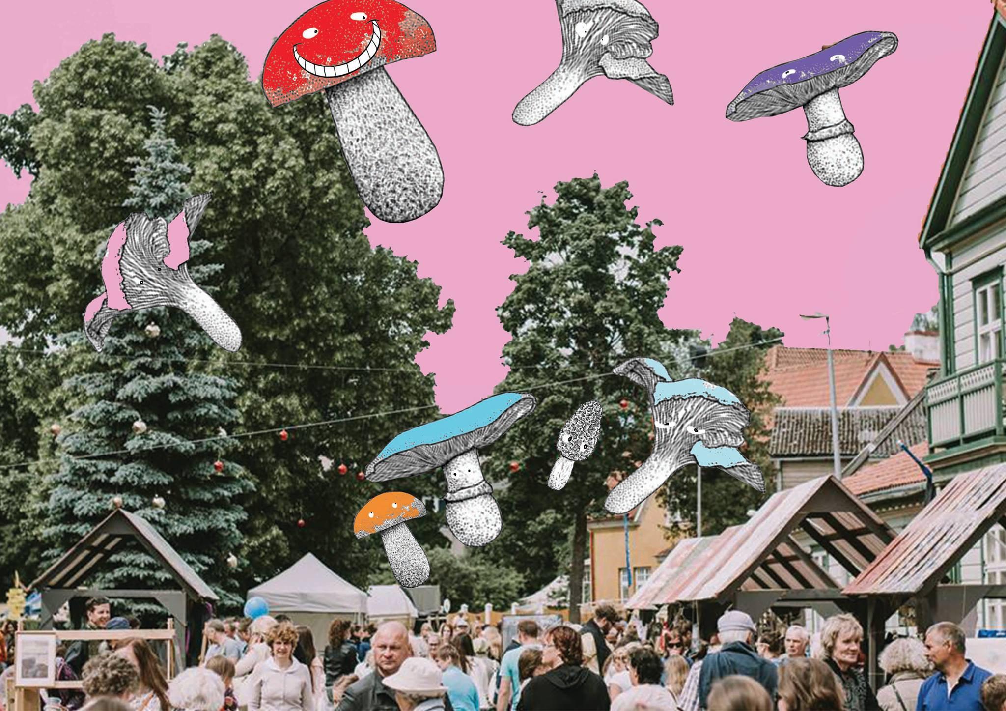 Kunsttükkide tänav 2018 - Viljandis 1. juuni