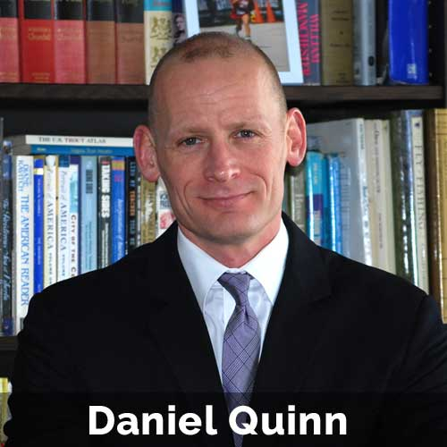 Daniel Quinn is a client and marketing communications specialist for a broad spectrum of industries.  More