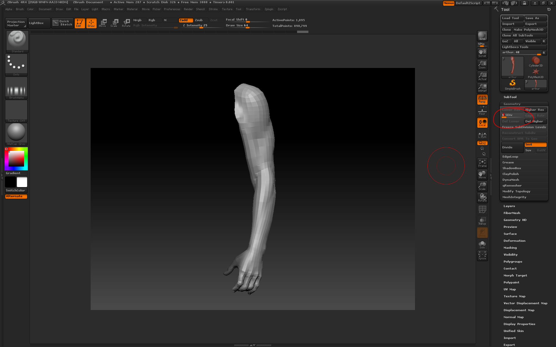 Projecting details in Zbrush — xuan prada