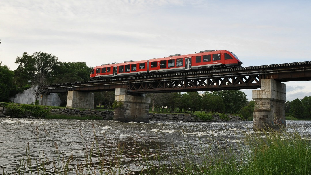 The Canada Infrastructure Bank could help fund the expansion of Ottawa's O-Train network. (shankar s./Creative Commons)