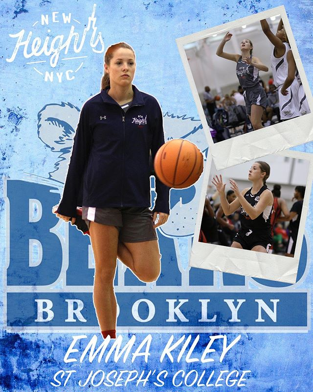 Congratulations goes out to Emma Kiley on her commitment to St Joseph's College (@sjcbears); go Bears! • #NewHeightsNYC | #BearWitnessSJC