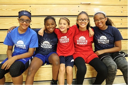 "New Heights is proud to announce that we are one of 50 organizations selected from around the country by the @WomensSportsFoundation and @espnW to receive a grant from the Sports 4 Life Initiative to support our work with female student-athletes! • ""We know that sports can help dramatically change the lives of young girls by building leadership skills, developing self-esteem, and experiencing the power of teamwork,"" -Laura Gentile, ESPN SVP, Marketing. • #NewHeightsNYC 