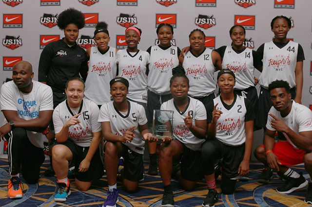 Round of applause for our 14U Girls team for winning the 2019 USJN DC championship! • #NewHeightsNYC