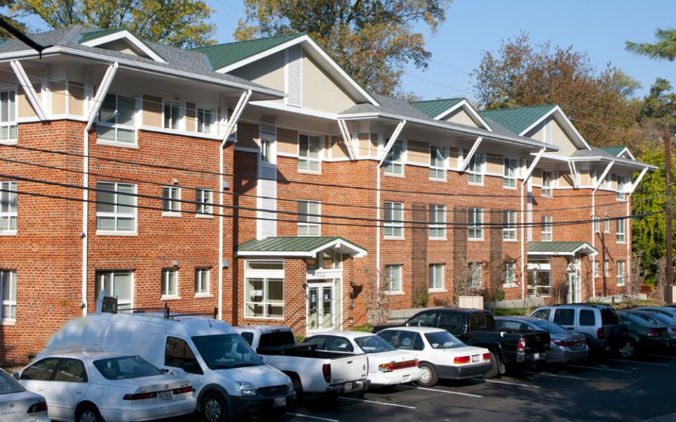 Tanglewood Apartments  • Substantial rehab • 132 apartments • Silver Spring, Maryland