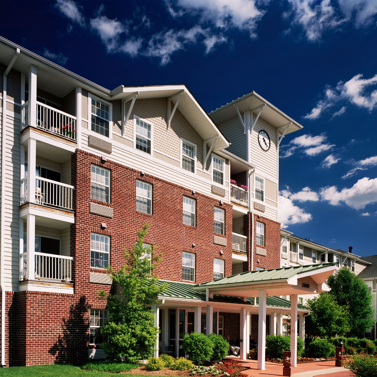 Madonna House  • 130 apartments • Fredericksburg, Virginia.