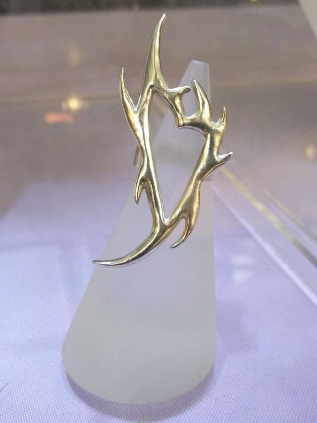 Spiky silver ring -  BUY