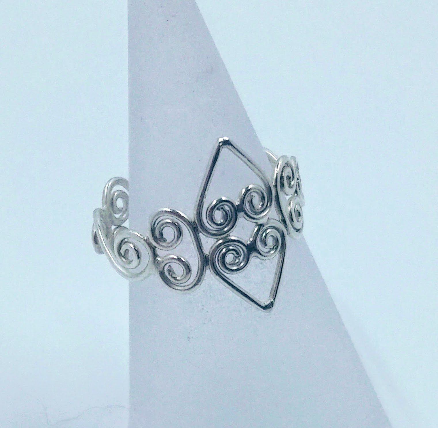 Silver wirework ring -  BUY