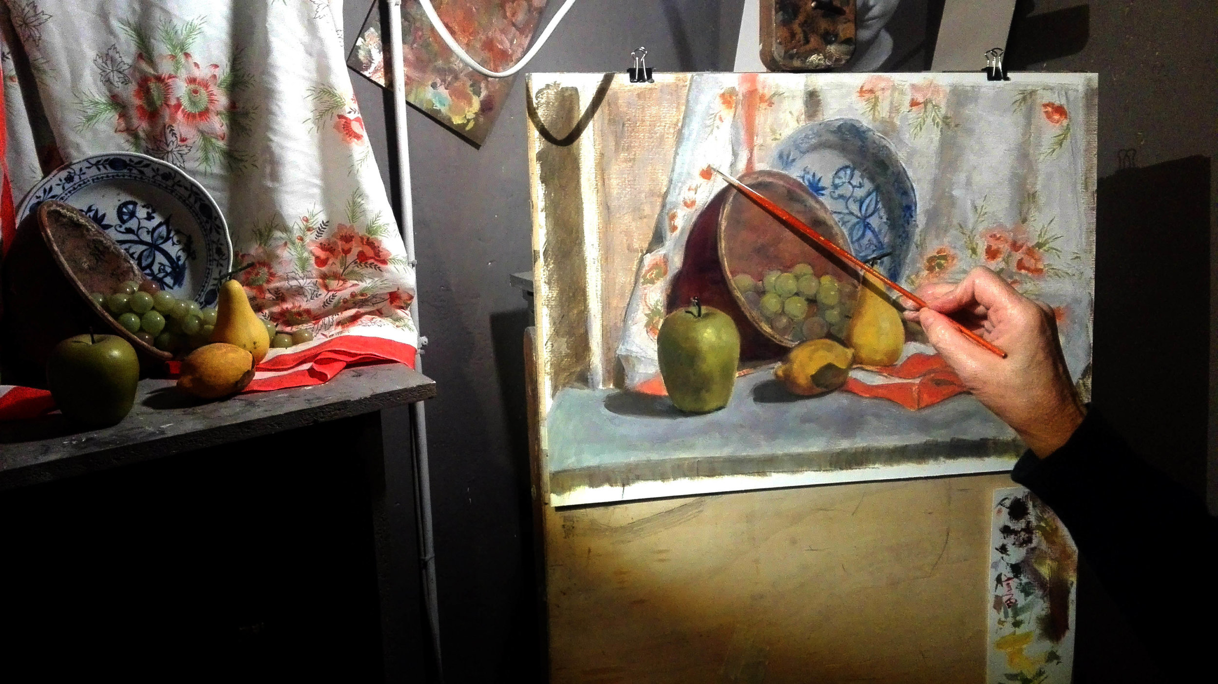 April 2017 - Still-life drawing and painting 10 day workshop