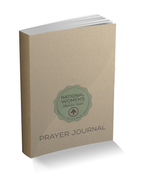Join today and receive a free prayer journal.