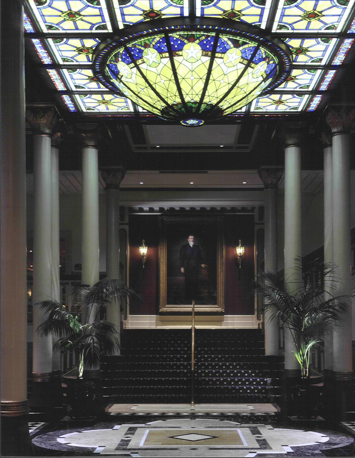 Driskill Lobby with Portrait.jpg