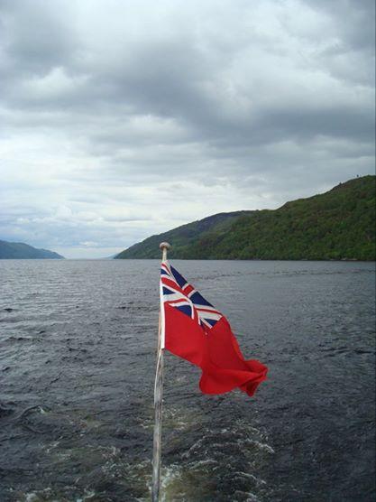 Una foto de mi paseo por el Lago Ness