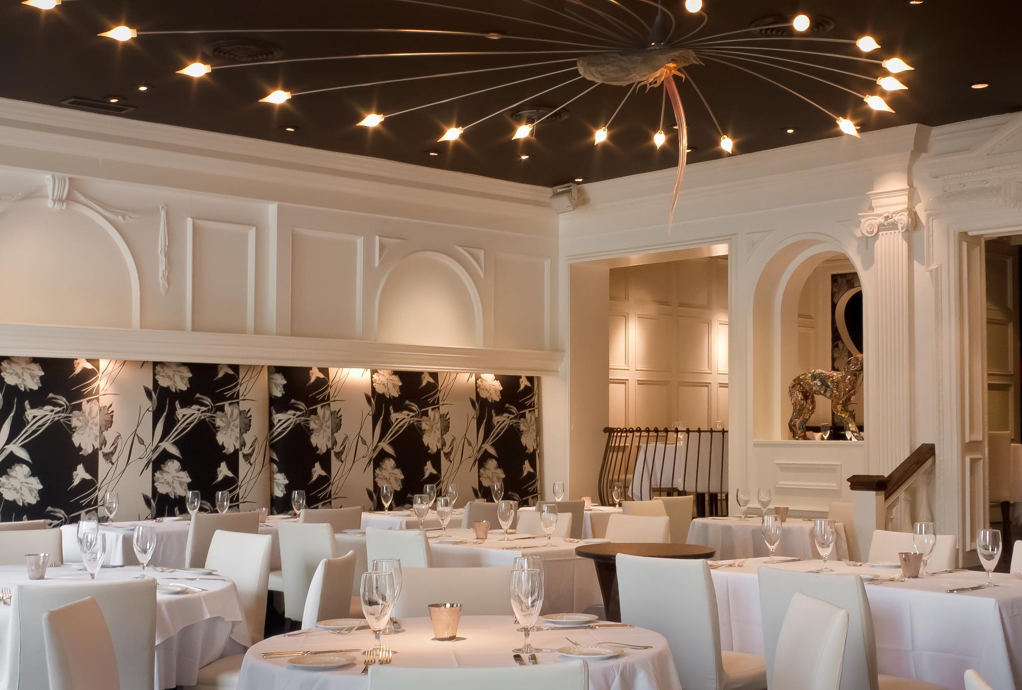 Aria, uno de los restaurantes más finos de Atlanta/Aria, one of Atlanta´s finest restaurants.