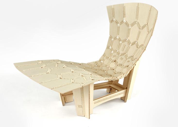 Knit chair.
