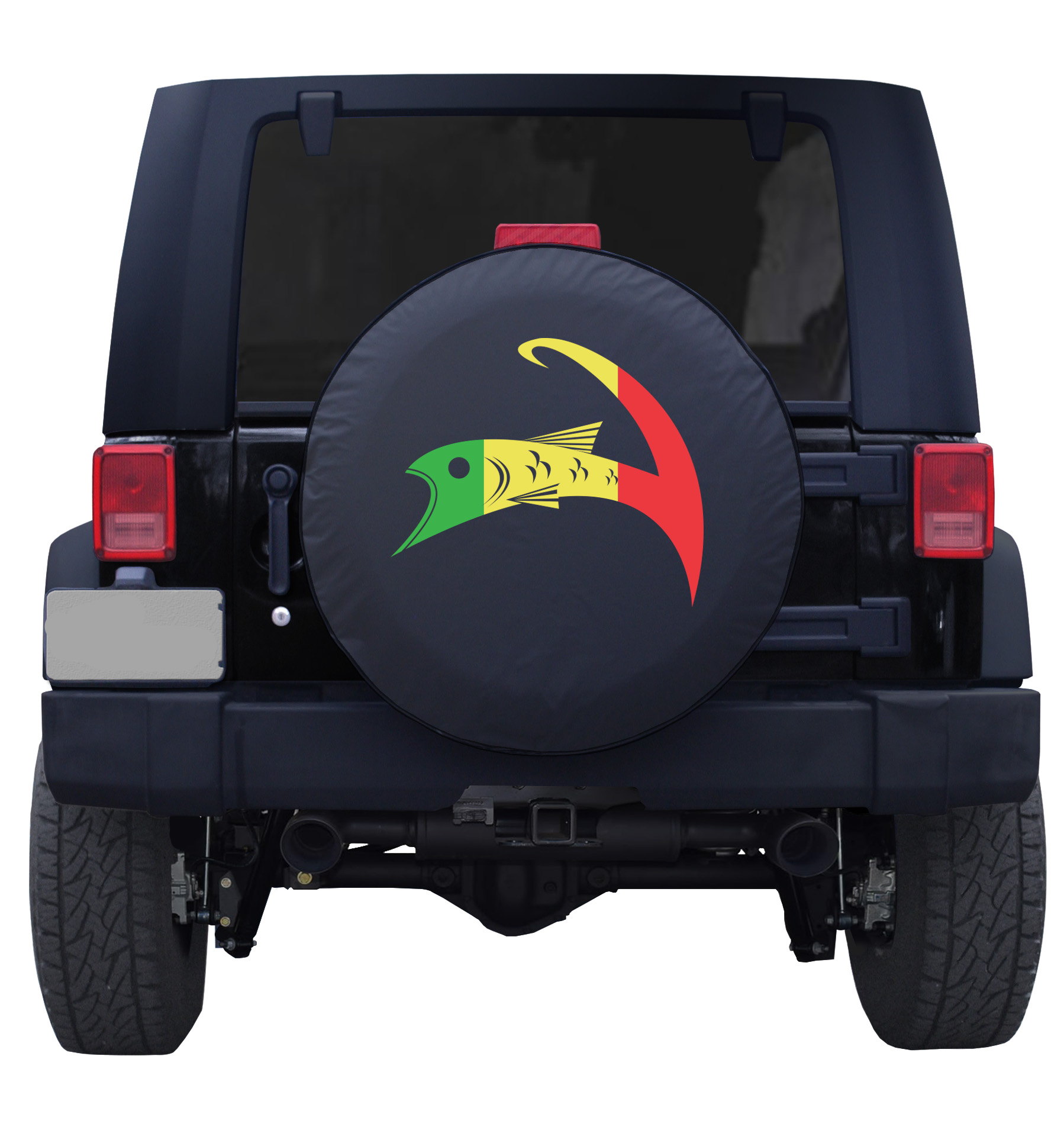 Forshore Rasta Cape Cloth Tire Cover Jeep Blk Back.jpeg