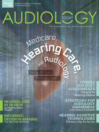 View a recent version of  Audiology Today !