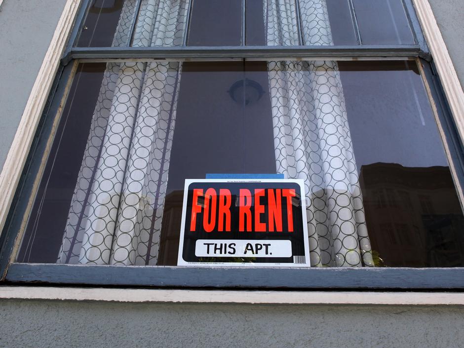 Portland rental sign
