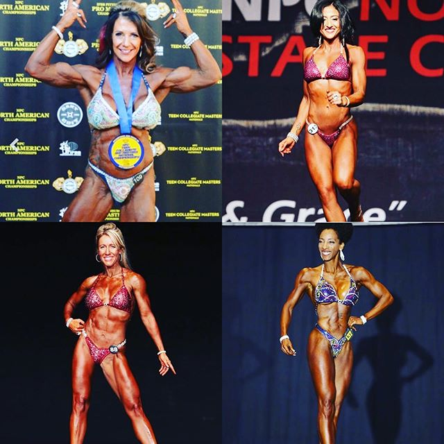 Send us some love muscleswagg nation as four of our athletes compete at the 2019 #mastersnationals in Pittsburgh!  Go get em divas #drippinthatswaggoo @christinedgw @mrsmuscle1969 @samgirl65 @stephwelch @tcmnationals @jj.henry.39 #muscleswagg #muscleswaggnation #musclehustle #risingstar #fithappens #girlsthatlift #girlswithmuscle #ftbragg  #airborne #biggerthanbodybuilding #npcbikini #BEASTMODEMA #bikinigirl #mastersnationals2019 #HATERSDOURJOB #Diamondphysiquecoach #diamonddiva #ITHASBEGONE ##diamonddivas