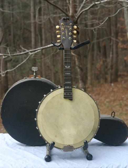 Stewart banjo-mandolin front