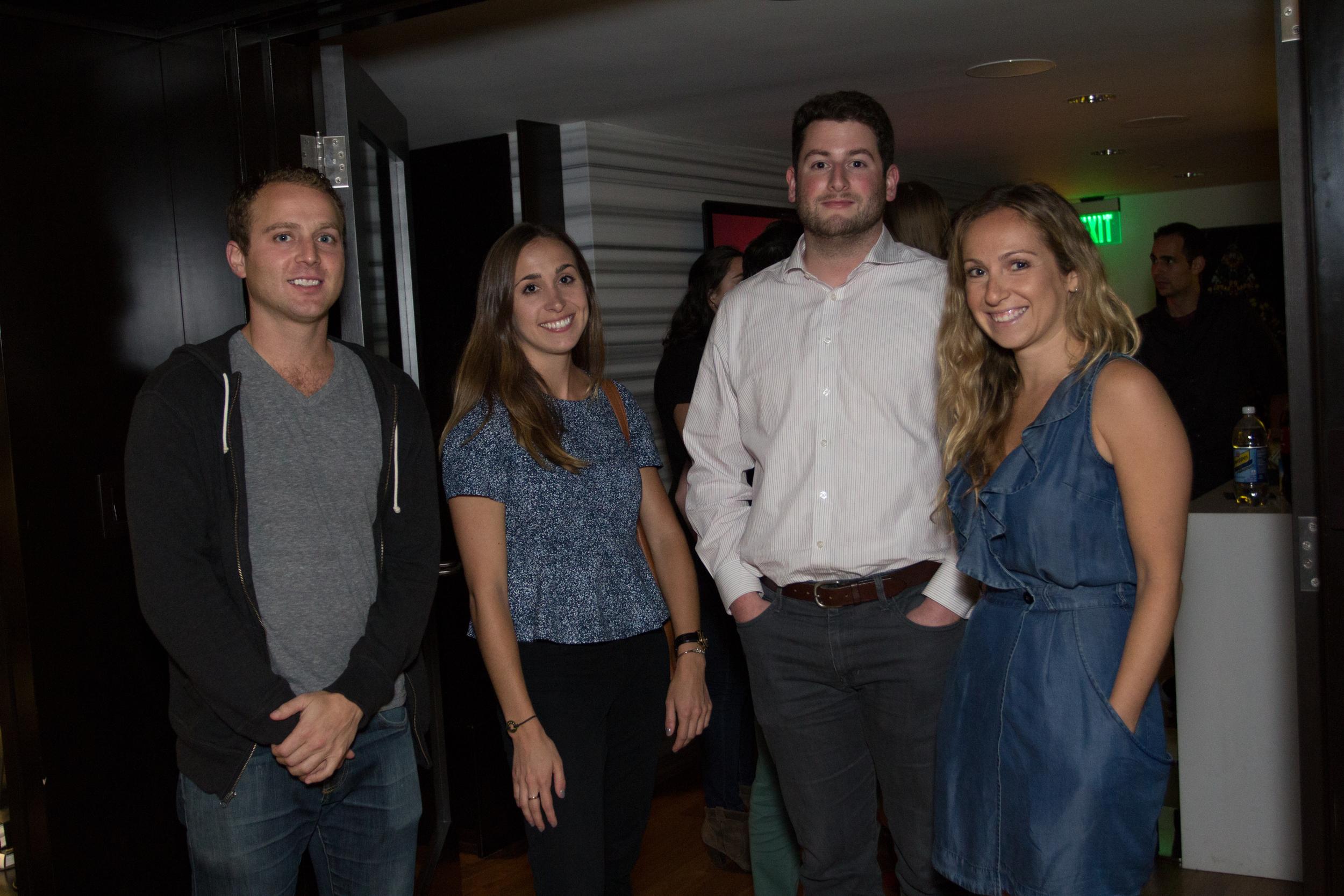 Trevor Walsh, Sam Kokin, Ariel Kaye, &Guest