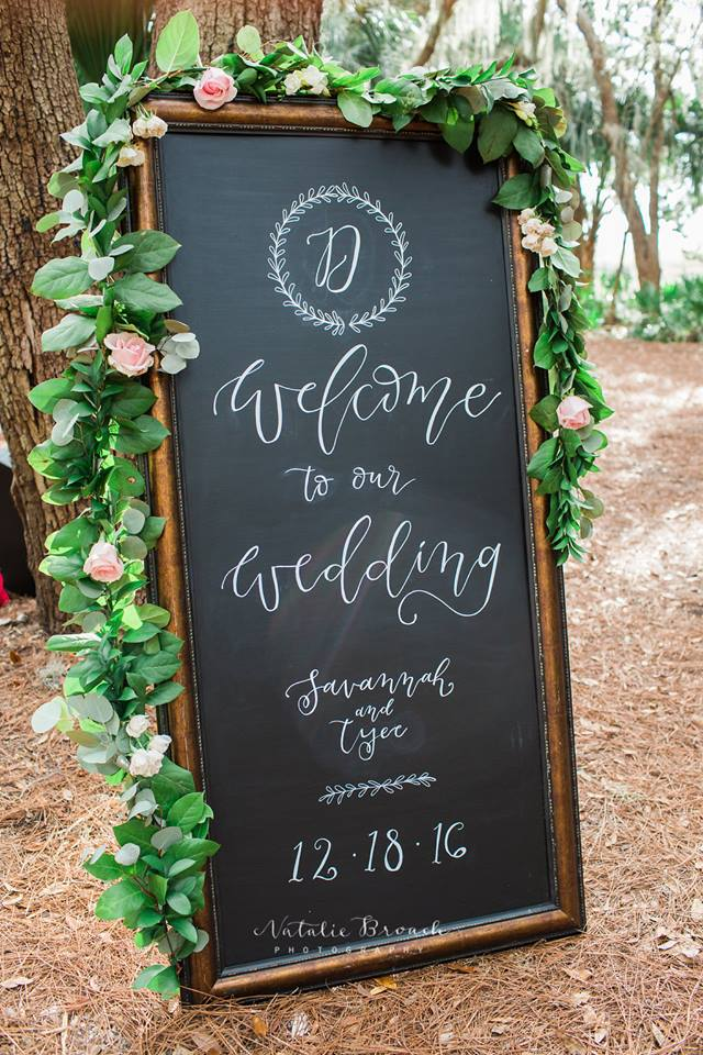 Fernandina Beach Florist Calligrapher